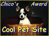 Chico'sAward of Cool Pet Site!